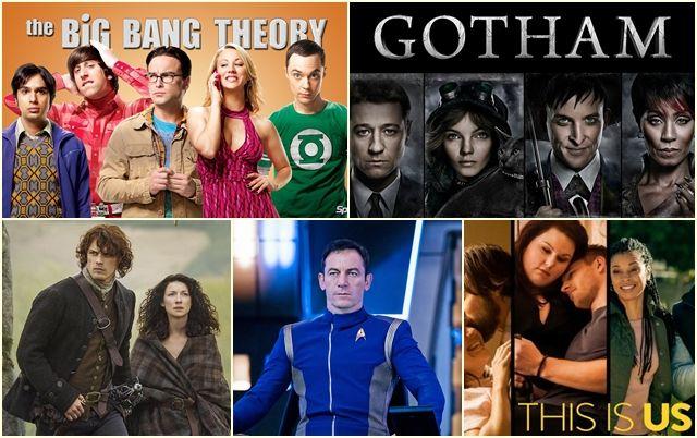 График выхода сериалов осень 2017