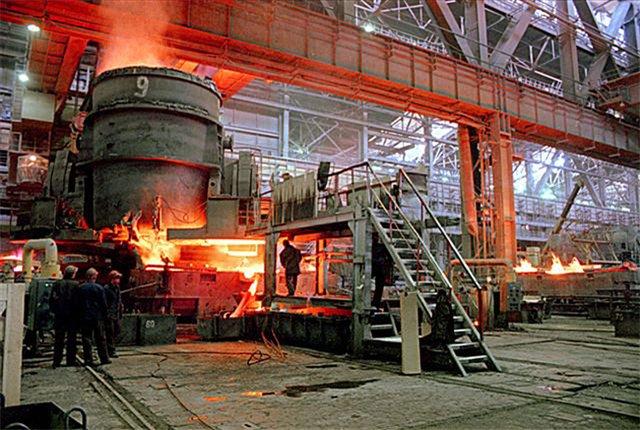 Производство чугуна индукционная печь