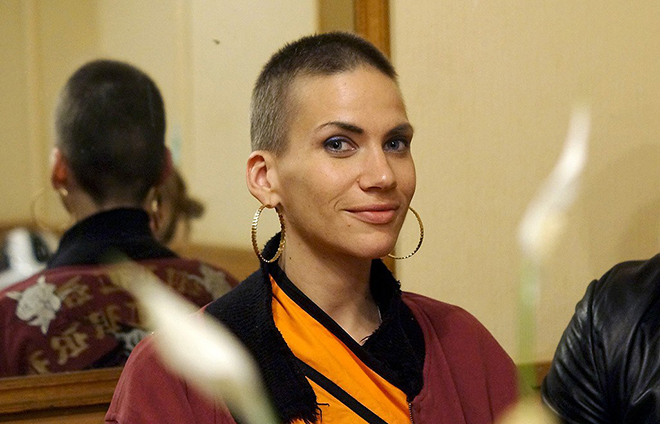 Саша Соколова после химиотерапии