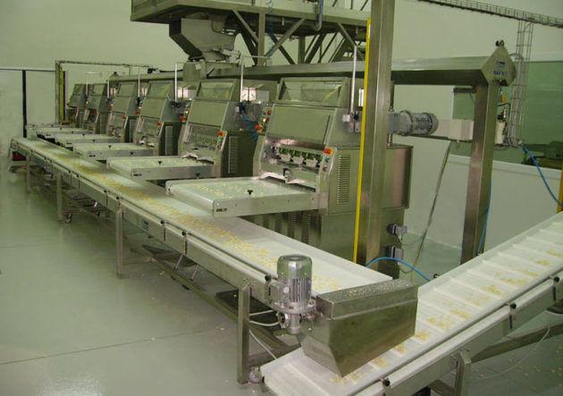 Производство макарон станок