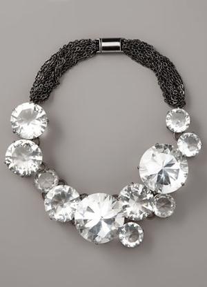 Vera wang crystal necklace