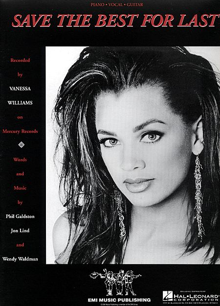 You go and save the best for last vanessa williams