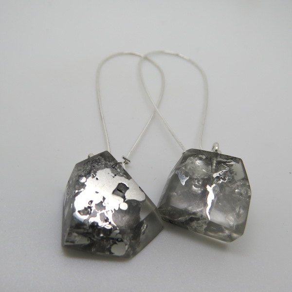 Rock drop earrings