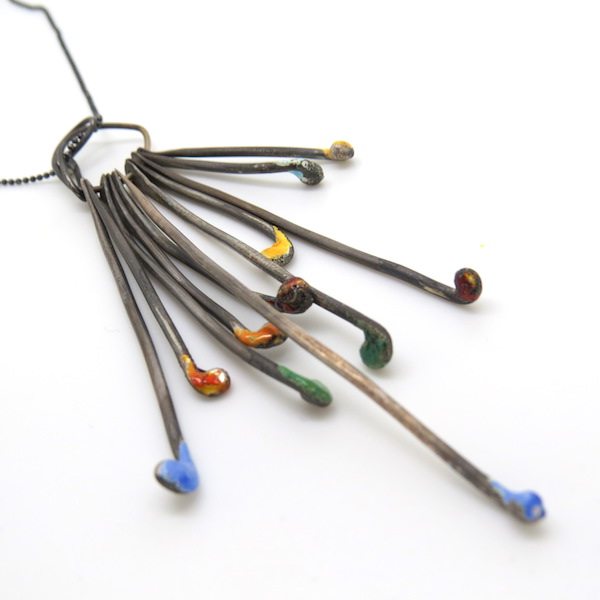 Rumbar danglers necklace.