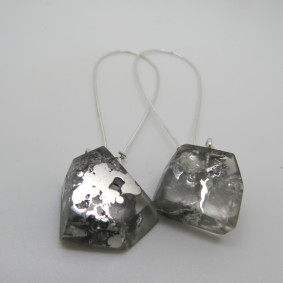 Rock drop earrings