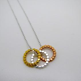 trio dot necklaces