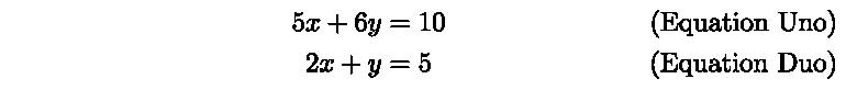 LatexMathEquationTags