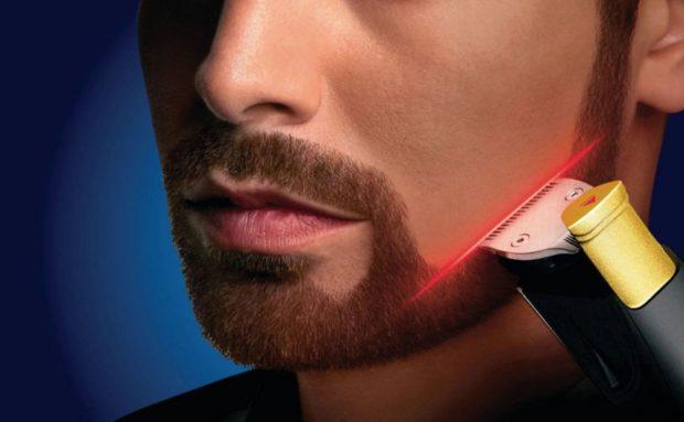аккуратная борода с усами