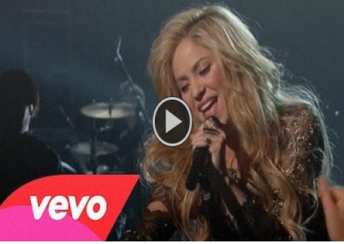 Shakira video com