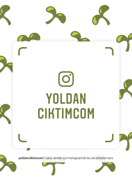 YoldanÇıktım.com on Instagram