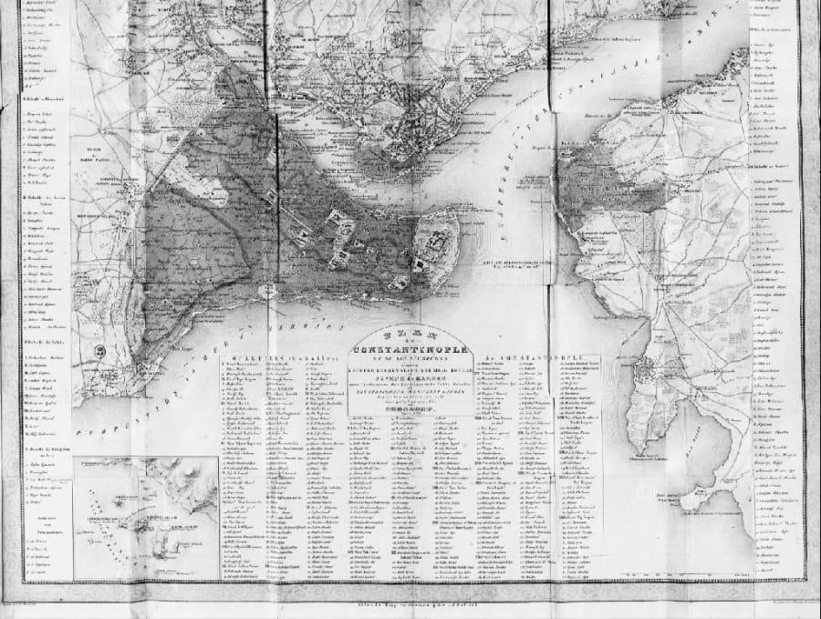 Petit Guide Du Voyageur Dans L'Intérieur de Constantinople