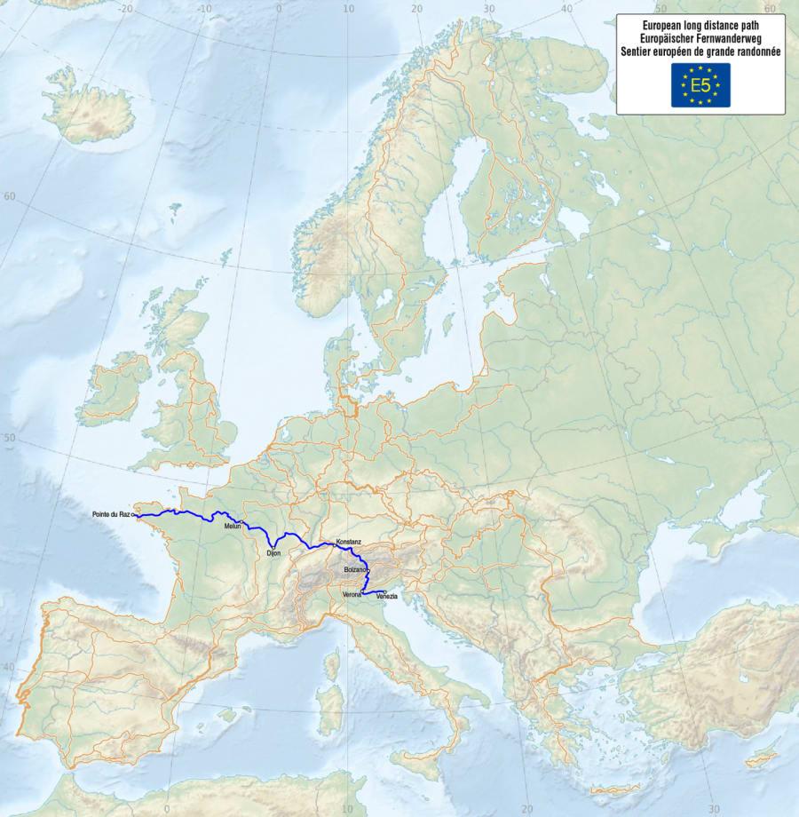 E5 - European Long Distance Path
