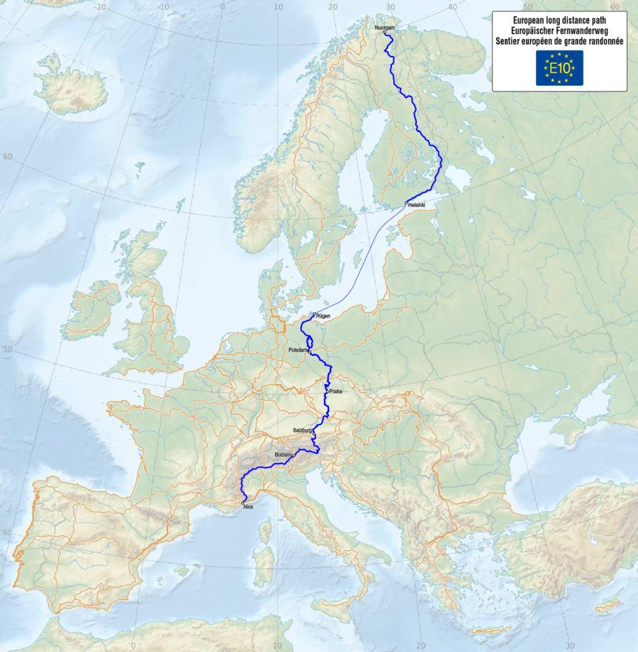 E10 - European Long Distance Path