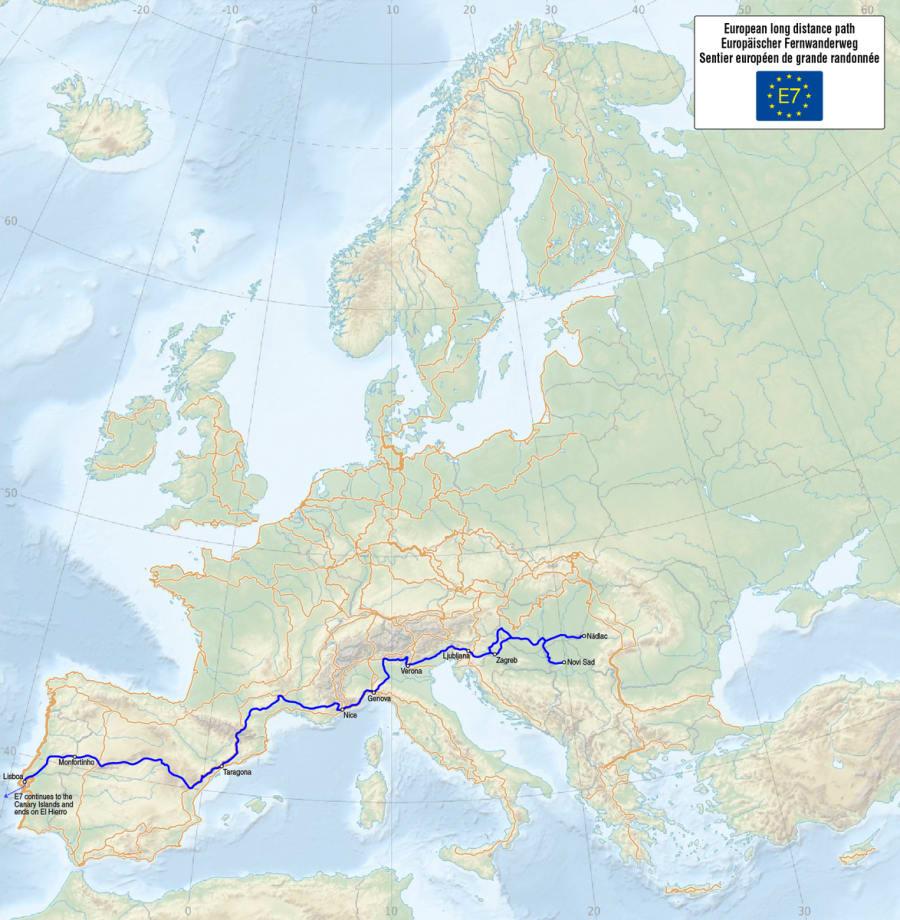 E7 - European Long Distance Path