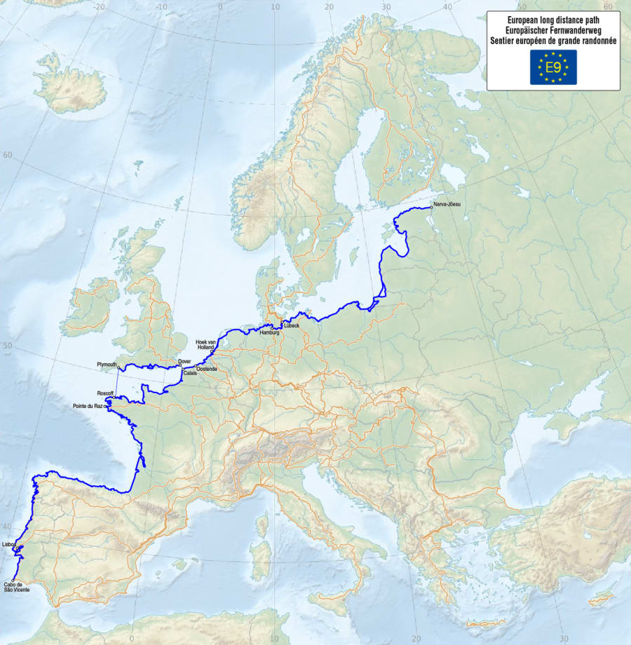 E9 - European Long Distance Path