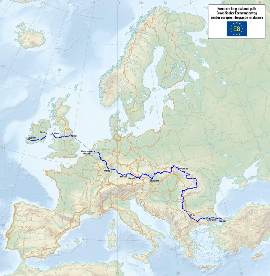 E8 - European Long Distance Path
