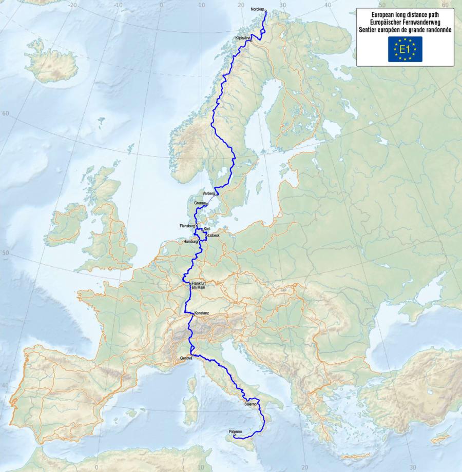 E1 - European Long Distance Path