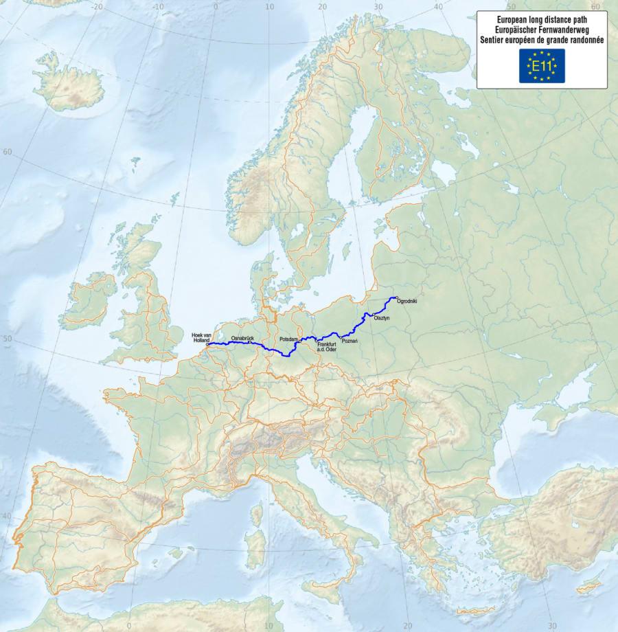E11 - European Long Distance Path