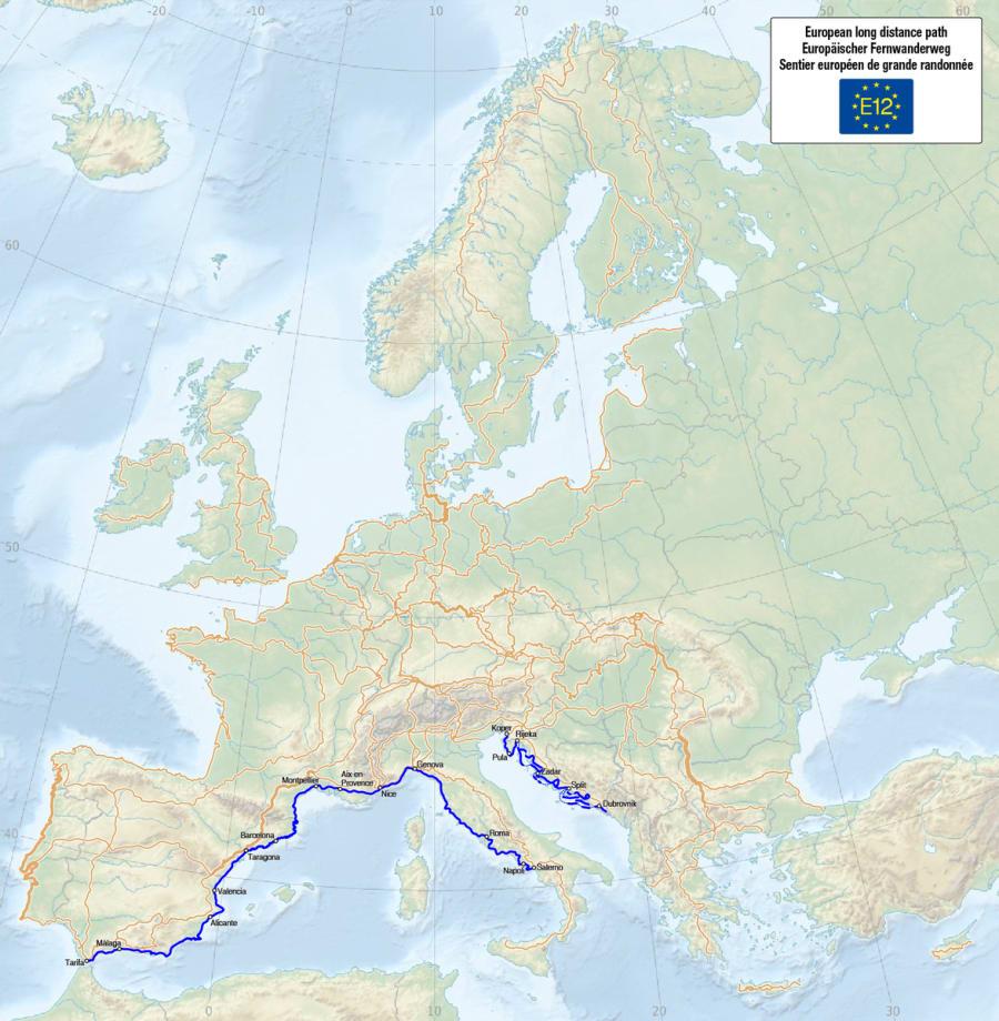 E12 - European Long Distance Path