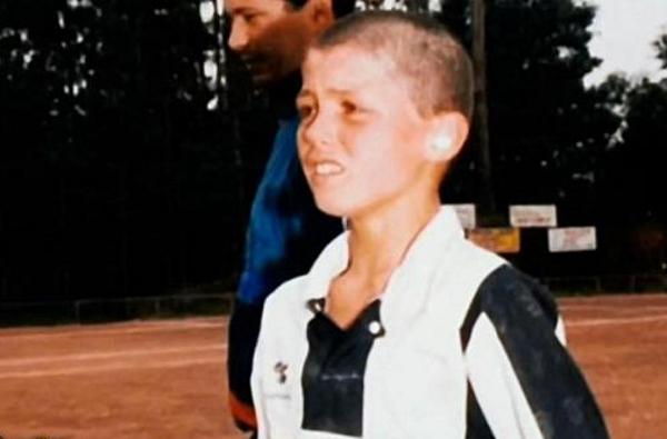 Молодой криштиану роналду фото