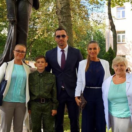 У Михаила Терехина есть взрослый сын от первого брака
