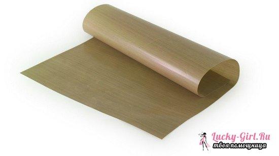Чем можно заменить пергаментную бумагу для выпекания? Подойдет ли фольга?