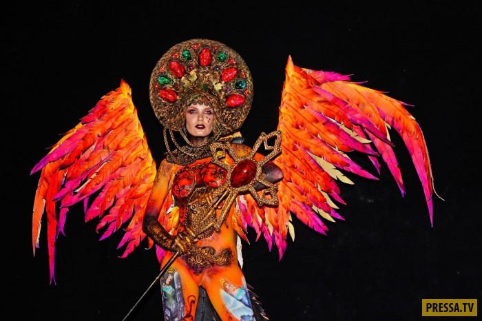 Фестивали боди арта