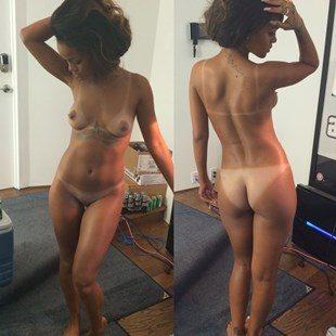Naked rihanna photo