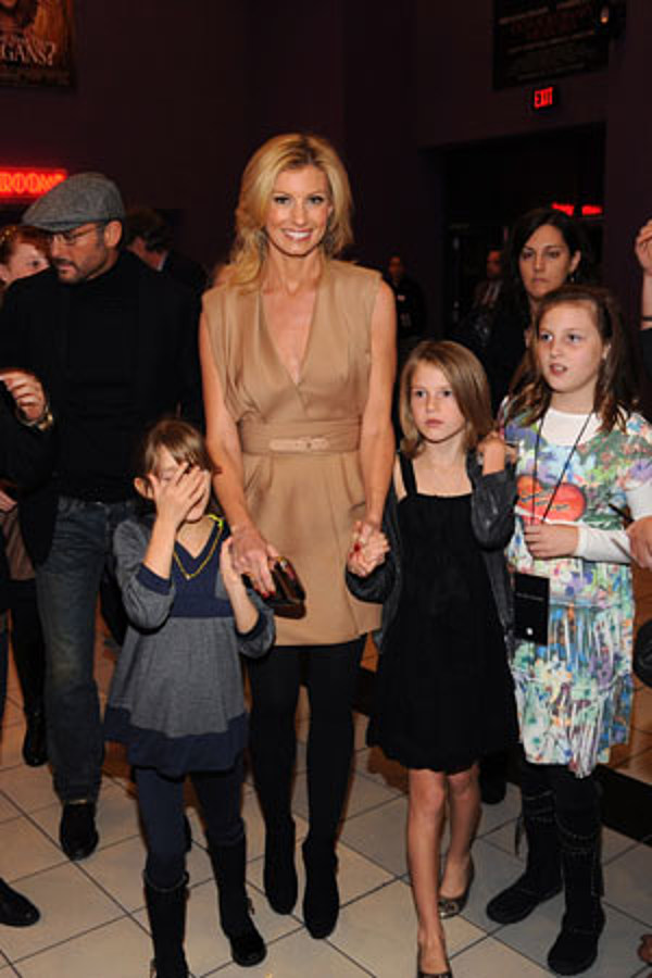 Faith hill and tim mcgraw kids