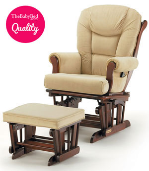 Superb Highest Quality: Shermag Glider Rocker Combo