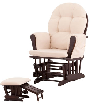 4. Status Roma Glider And Nursing Ottoman