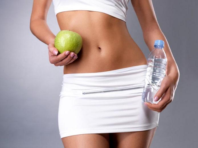 Диета на воде для похудения. Варианты меню и влияние на организм