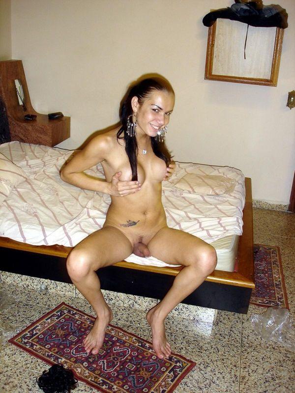 Фото 8 - Сексуальный обнаженный половой член красивого трансвестита - частное. Красивая секси эротика