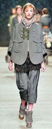 Этажный стиль в одежде