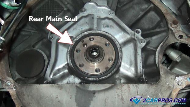 Main rear seal replacement cost