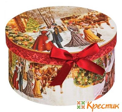 Как упаковать круглый подарок