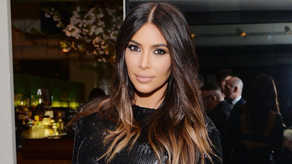 Kim kardashian short haircut