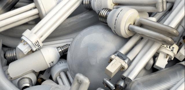 Утилизация лампы энергосберегающие