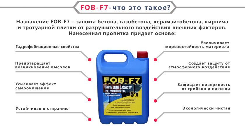 Гидрофобизатор FOB-F7