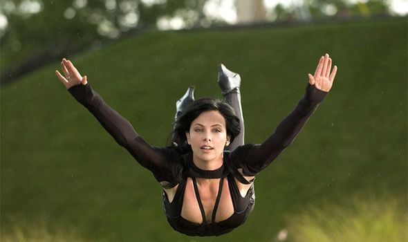 Charlize theron hot in aeon flux