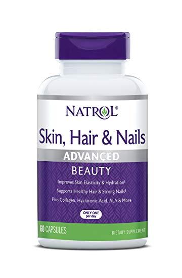 Natrol skin hair nails review
