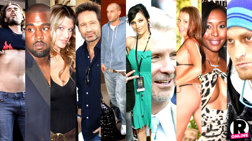 Celebrities addicted to sex