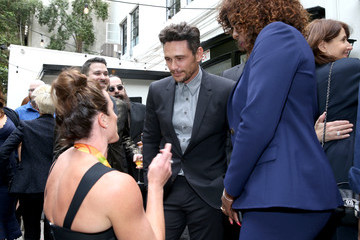 James Franco Globes Weekend Gets Sporty With Athletic Royalty