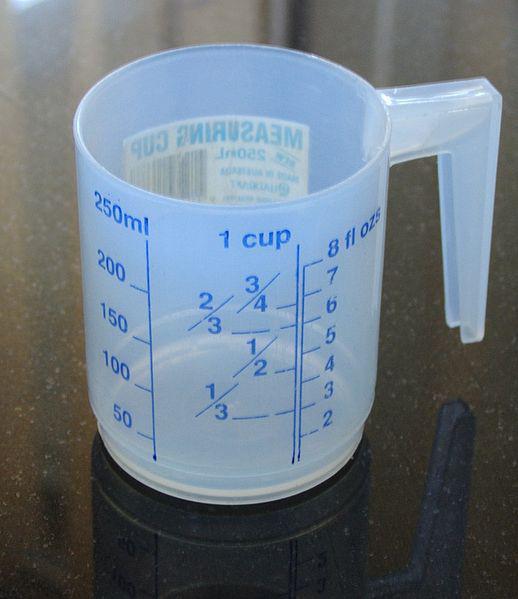 Граммов в литре