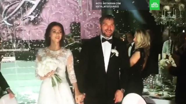 Овечкин свадьба торт