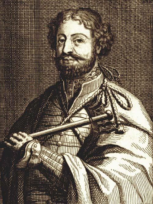 Ираклий I, гравюра из старинной книги. wikimedia