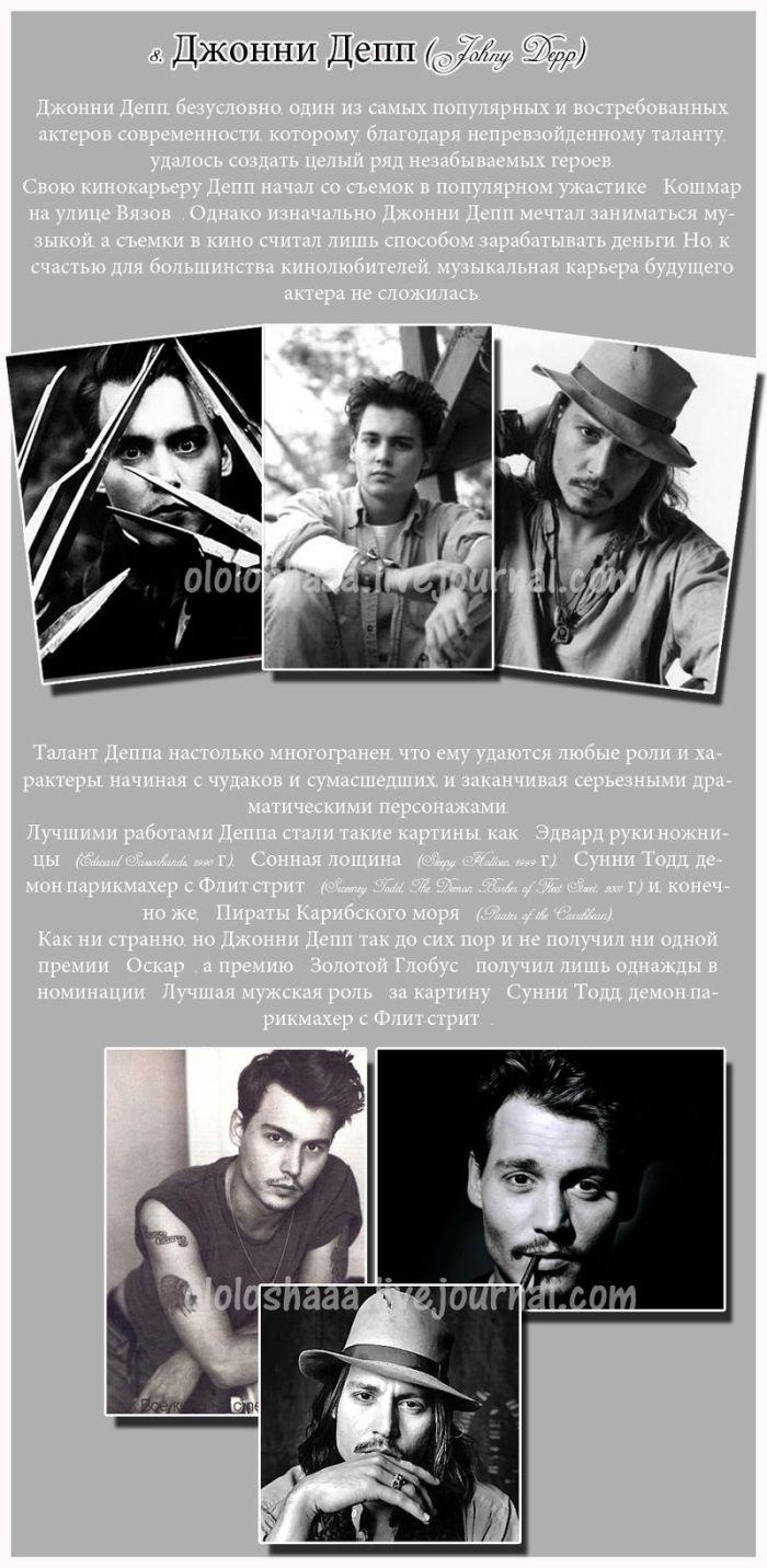 Самые талантливые актеры Голливуда (11 фото)