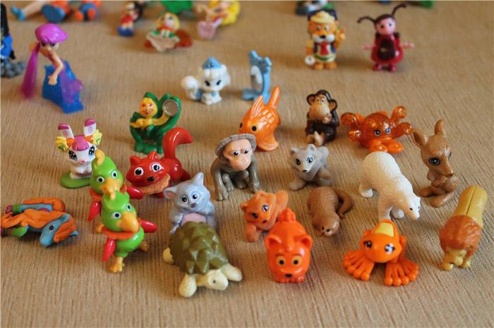 Киндер с игрушкой из коллекции как узнать