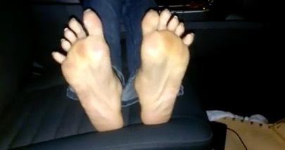 Long toenails pedicure