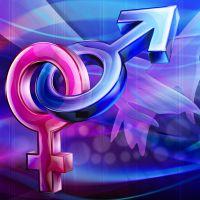 Мужской знак и женский знак